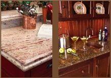 Shivakasi Ivory Granite Kitchen Countertops