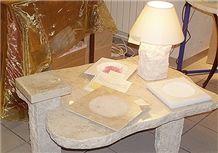 Coffee Table in Pierre De Kanfanar