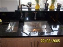 Kitchen Granite Worktops: Nero Galaxy