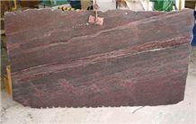 Jacaranda Granite Slab, Brazil Red Granite