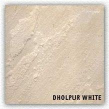 Dholpur White Sandstone Slabs & Tiles, India White Sandstone