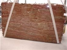 Crema Bordeaux Exotic Granite Slab