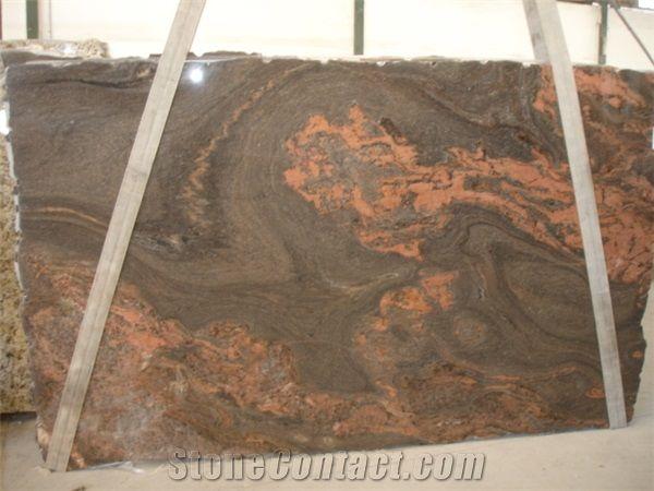 Magma Bordeaux Exotic Granite Slab From Brazil
