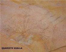 Gialla Di Barge Quartzite Slabs & Tiles, Italy Yellow Quartzite