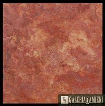 Rosso Sedona Travertine Slabs & Tiles