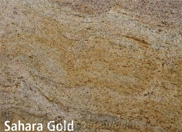Sahara Gold Granite Slabs Tiles Namibia Yellow Granite
