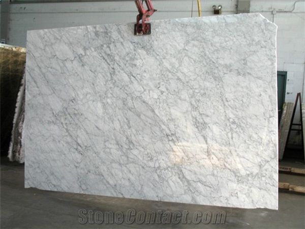 Bianco Carrara Marble Slabs Italy White Marble From
