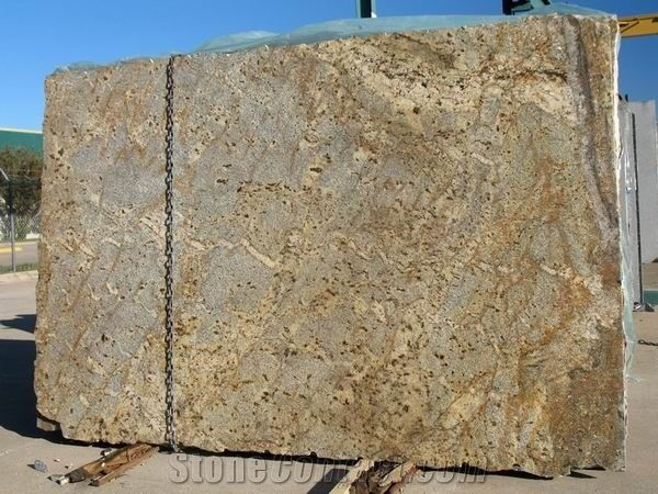 Floral Fantastico Granite Slabs From United States