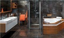 Bath Design, Black Slate Kitchen Design