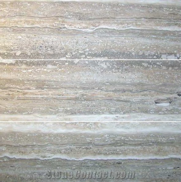 Mare Argento Grey Travertine Slabs Tiles From Canada