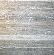 Mare Argento Grey Travertine Slabs & Tiles
