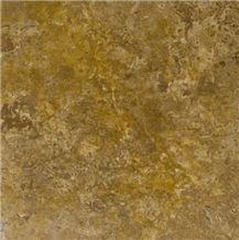 Golden Noce Travertine Slabs & Tiles, Yellow Polished Travertine Floor Tiles, Wall Tiles Turkey