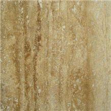 Walnut Travertine Vein Cut Tiles & Slabs, Brown Polished Travertine Floor Tiles, Wall Tiles