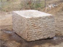Golden Seed Granite Blocks