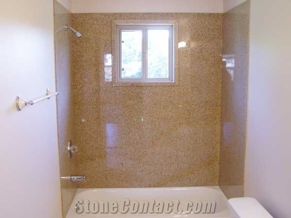Yellow Granite Bath Tub Surround Bathtub Panels Bathtub Surround ...