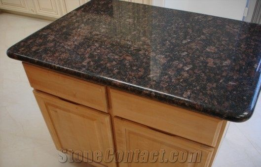 Tan Brown Granite Kitchen Countertop Kitchen Island Tops From China Stonecontact Com