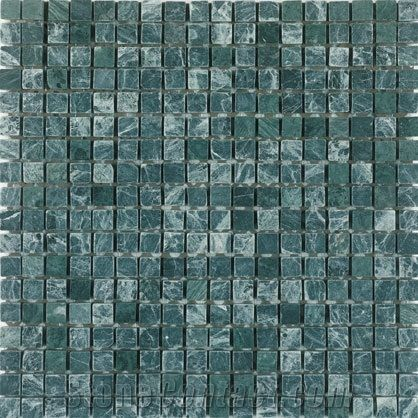 Indian Green Marble Mosaic Tile From United States