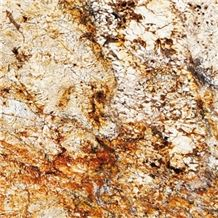 Zeus Gold Granite Slabs & Tiles, Brazil Yellow Granite
