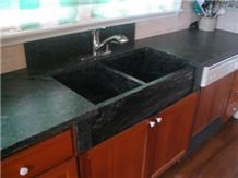 Soapstone Countertops and Sinks, Ipanema Green Soapstone