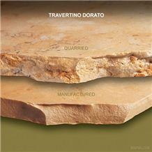 Travertino Dorato Travertine Slabs & Tiles