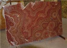 Rosso Rubino Onyx Slabs & Tiles, Pakistan Red Onyx
