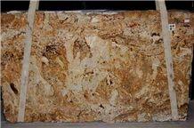 Brazil Yellow Granite Slab