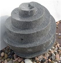 Grey Granite Fountain