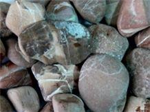 Red Maron Granite River Stone