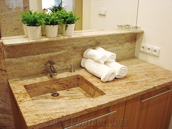 Granite Bathroom Vanity Tops granite bathroom, vanity top from czech republic - stonecontact