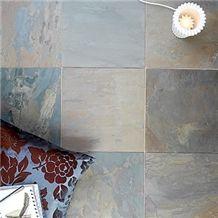 Autumn Lilac Slate Cleft Slate Floor Tiles