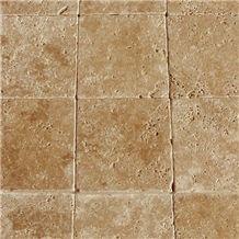 Noce Travertine Slabs & Tiles, Turkey Brown Travertine