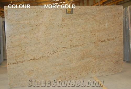 Ivory Gold Granite Slabs Tiles From Australia