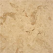 Jerusalem Bone Limestone Polished Tile, Israel White Limestone