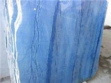 Azul Macaubas Special Slabs, Blue Boquira Quartzite