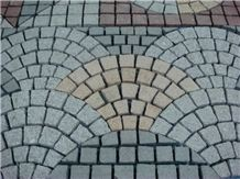 Granite Mesh Cobble Stone