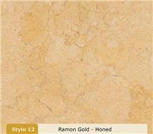 Ramon Gold-Honed, Israel Yellow Limestone Tiles, Slabs