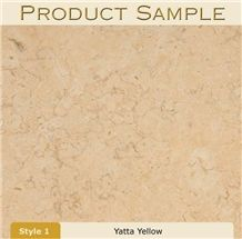 Yatta Yellow Limestone Slabs & Tiles, Israel Beige Limestone
