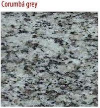 Corumba Gray Granite Slabs & Tiles, Brazil Grey Granite