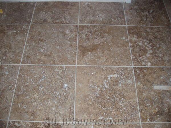 Noce Travertine Floor Tile Turkey Brown Travertine From United