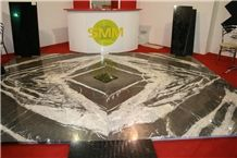Montana Silver Ice Marble Flooring