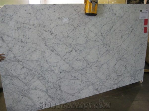 Carrara Select Polished Marble Slabs Bianco Venato D Slab