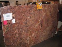 Juparana Bordeaux Granite Slabs