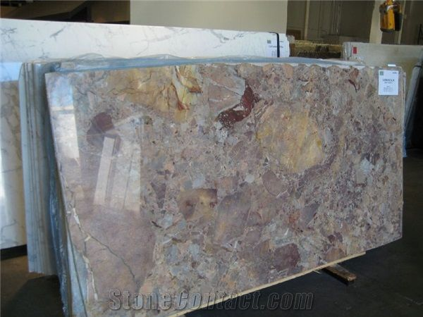 Sarrancolin Framboise Marble Slabs From United States StoneContactcom - Artistic tile and stone san carlos