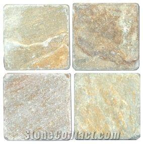Baoding Creme Slate Slabs Tiles