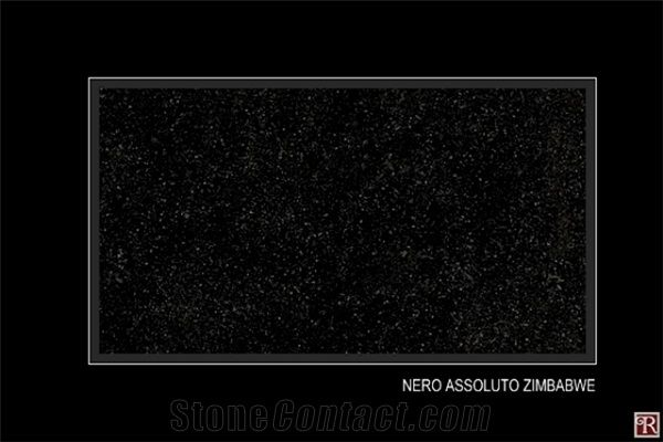 Nero Assoluto Zimbabwe , Nero Assoluto Zimbabwe Granite From Hungary Stonecontact