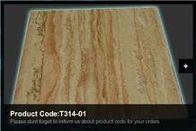 Elazig Gold Travertine Slabs & Tiles, Turkey Yellow Travertine T314-01