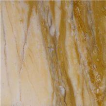 Giallo Siena Medio Marble Tiles, Slabs