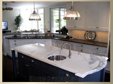 Calacatta Oro Marble Countertop from United States-54338