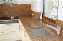 Sivakasi Gold Granite Countertop