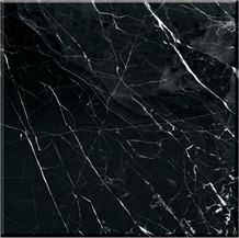 Nero Marquina Select Marble Slabs & Tiles, Spain Black Marble